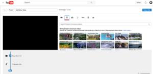 YouTube editor creation